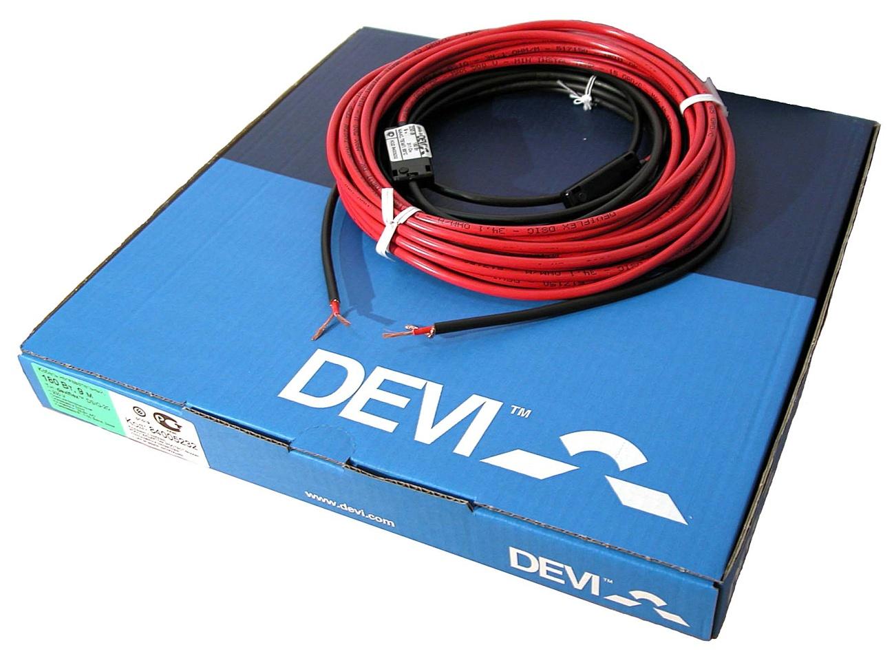 Электрический кабельный теплый пол DEVI